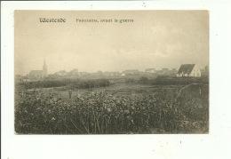 Westende Panorama Avant La Guerre - Westende