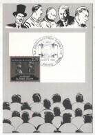 CM - Carte Maximum Card - 1986 - YT 2436 - La Cinémathèque Française - Jean Renoir - La Grande Illusion - Cartes-Maximum