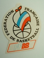 AUTOCOLLANT FFBB - FEDERATION FRANCAISE DE BASKETBALL - COQ - Aufkleber