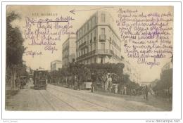 Alger Tramway Rue Michelet - Alger