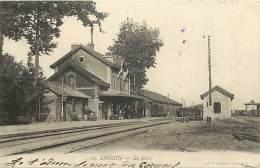 - Saone Et Loire -ref- 871- Digoin - La Gare - Gares - Ligne De Chemin De Fer - Lignes De Chemin De Fer - - Digoin
