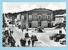 Grottaminarda (Avellino) - Piazza Vittoria E Fontana - Avellino
