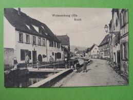CPA Weissenburg / Weißenburg In Bayern (Deutschland / Allemagne) - Bruch - Weissenburg