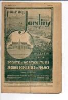 """Horticulture 1946 : Bulletin N° 110 """"Pour Nos Jardins """" De La Société D'Horticulture Des Jardins .... à Valenciennes - Livres, BD, Revues"""