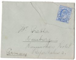 HJ66     Great Britain 1911 - Cover To Germany - Storia Postale