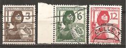 DR 1937 // Michel 643/645 O (4145) - Gebraucht