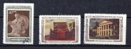 URSS. AÑO 1950.  Mi 1442/1444 - Yv 1406/1408(USED) - 1923-1991 UdSSR