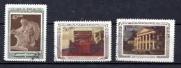 URSS. AÑO 1950.  Mi 1442/1444 - Yv 1406/1408(USED) - 1923-1991 URSS