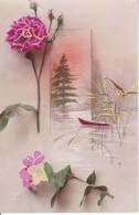 AK Blumen Collage - Künstlerkarte - 1922 (22864) - Blumen
