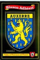 AUXERRE.n°200.Blason Adhésif - Auxerre