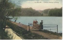 LA HULPE : Chateau Solvay Et Etang - Cachet De La Poste 1929 - La Hulpe