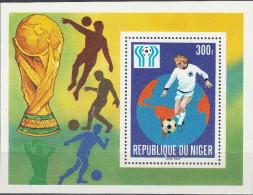 """NIGER Block 20(623) """"Fußball-Weltmeisterschaft Argentinien 1978"""" MNH / ** / Postfrisch - Niger (1960-...)"""