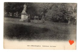 06801-LE-62-Chle D´ Hardinghen-Intérieur Du Parc---------animée - Francia