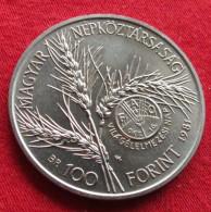 Hungary 100 Forint 1981 Fao F.a.o. - Hungría