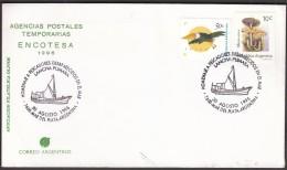 Argentina Mar Del Plata 1996 / Fishing / Ship - Jobs