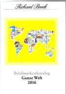 BOREK Ganze Welt A-Z Briefmarken Katalog 2016 Neu 30€ Mit MICHEL # Catalogue Stamps Of The World A CH D F GR I L P SF TK - Pin's & Anstecknadeln