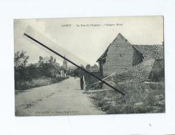 CPA  - Cappy  - La Rue De Chuignes - Andere Gemeenten