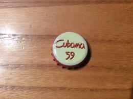"""Capsule De Bière """"Cubana 59"""" JOHN MARTIN (couronne) Belgique - Cerveza"""
