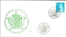 POSTMARKET  ESPAÑA 1986 - UNESCO