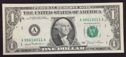 1981 One Dollar Federal Reserve Note - Federal Reserve (1928-...)