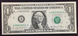 1981 One Dollar Federal Reserve Note - Billets De La Federal Reserve (1928-...)