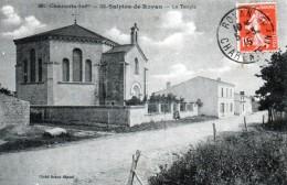 Cpa (17) St-sulpice-de-royan -- Le  Temple - Other Municipalities