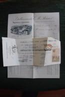 Facture Ancienne - NIMES, Etablissements REISER, Manufacture D'Habillements - Frankreich