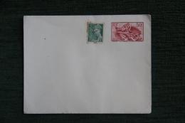 ENTIER POSTAL - 1940, La MARSEILLAISE De RUDE Accompagnée De MERCURE  50 C Vert - Enteros Postales