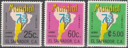 "EL SALVADOR 1244-6 ""Fußball-Weltmeisterschaft Argentinien 1978"" MNH / ** / Postfrisch - El Salvador"