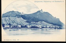 Allemagne --   Konigswinter , Drachenburg Und Drachenfels - Allemagne
