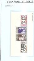 63701) Gabon-1964 Olimpiadi Di Tokio Bf-n.1.-nuovo- - Gabon (1960-...)