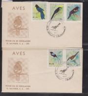 O) 1991 EL SALVADOR, BIRDS, FDC XF - El Salvador