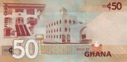 GHANA P. 41a 50 C 2007 UNC - Ghana