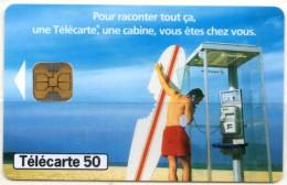 France 1998 Télécarte Phonecard Véliplanchiste Requin Shark - Sport
