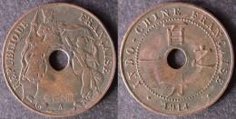 INDOCHINE  1 Cent 1914  INDOCINA  INDOCHINA   Envoi Gratuit - Colonies