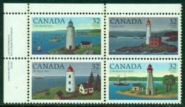 "-1984-""Lighthouses"" MNH (**) Setenant Block - 1952-.... Reign Of Elizabeth II"