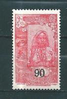 Timbres Des Cote De Somalis   De 1922/24  N°115  Neufs * - French Somali Coast (1894-1967)