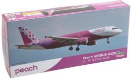 Peach Airbus A320 1/200 (  Hasegawa ) - Airplanes