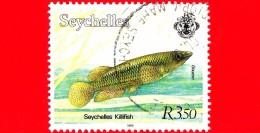 SEYCHELLES - Usato - 2000 - Flora E Fauna - Pesce - Seychelles Killifish - 3.50 - Seychelles (1976-...)