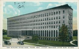 US TOLEDO / New Overland Office Building / CARTE COULEUR - Toledo
