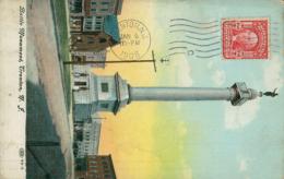 US TRENTON / Battle Monument / CARTE COULEUR - Etats-Unis