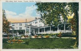 US TRYON / Oak Hall Hotel / CARTE COULEUR - Etats-Unis