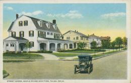 US TULSA / Street Scene, Maple Ridge Addition / CARTE COULEUR - Tulsa