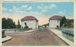 US VALHALLA / Entrance To Kensico Dam Bridge / CARTE COULEUR - NY - New York