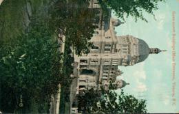 US VICTORIA / Government Buildings, Main Entrance / CARTE COULEUR GLACEE - Etats-Unis