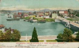 US VICTORIA / General View Of Victoria / CARTE COULEUR - Etats-Unis