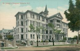 US VICTORIA / Saint Joseph's Hospital / CARTE COULEUR GLACEE - Etats-Unis