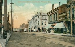 US VICTORIA / Government Street / CARTE COULEUR GLACEE - Etats-Unis