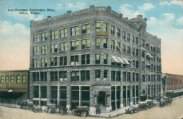 US WACO / The Peerless Insurance Building / CARTE COULEUR - Waco