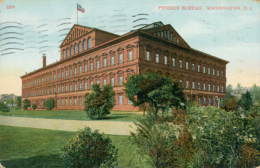US WASHINGTON DC / Pension Bureau / CARTE COULEUR - Washington DC